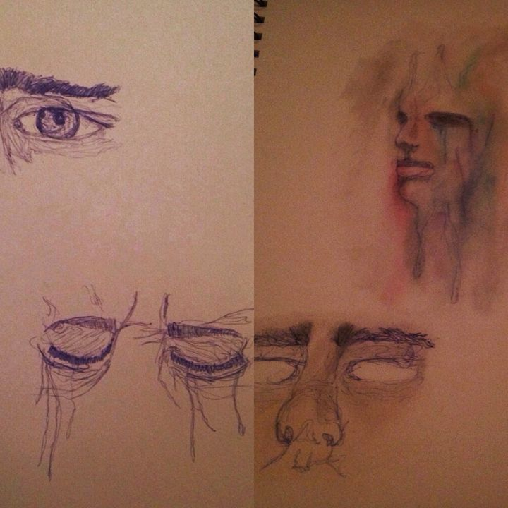 Smudged Colour and Washed Out Faces -  Sierradeangelis