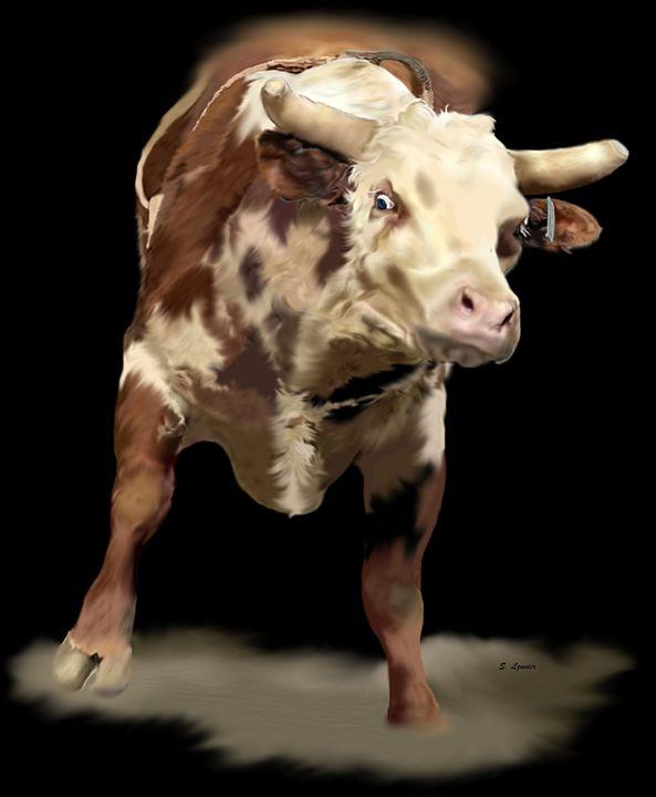 Cowboy Up - Sally Lannier Artist