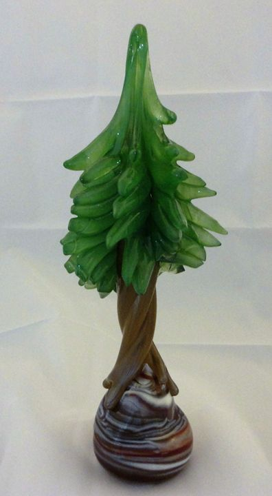 Agate Pine - Scorza Art Glass