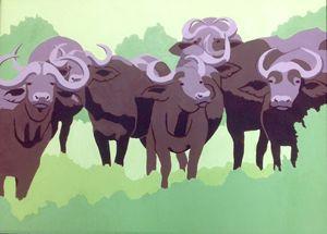 Water buffalo - The Rabbit Hole Gallery