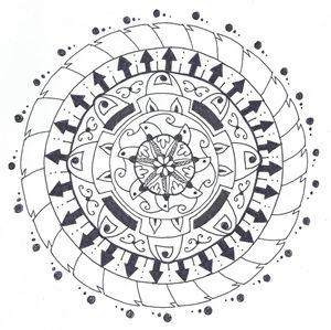 Coloring Mandala #1