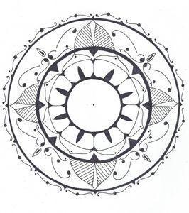 Coloring mandala #2