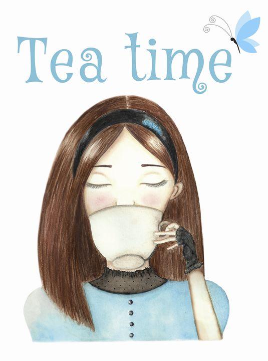 Tea Time - Giordana Pozzi