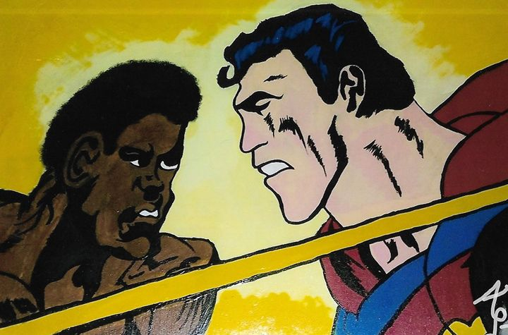Ali VS Superman - Toon_Lif3