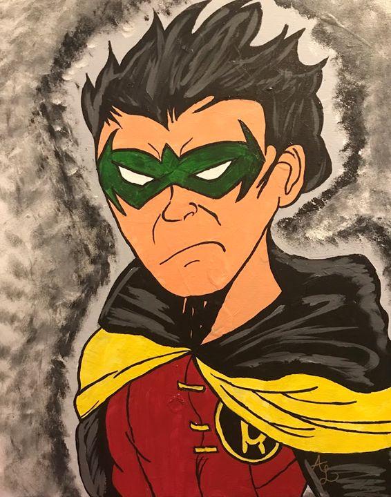 Damian Wayne - Toon_Lif3