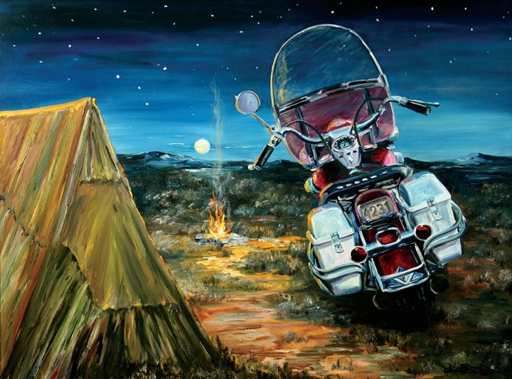 """""""Camping Out"""" - Blue Bond Gallery"""