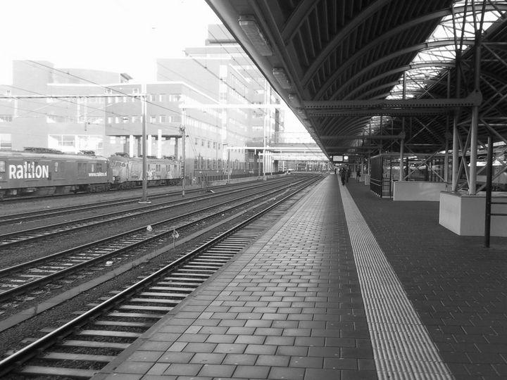 Holland Train Station 2, 2018 - Bauhaus Press Shop