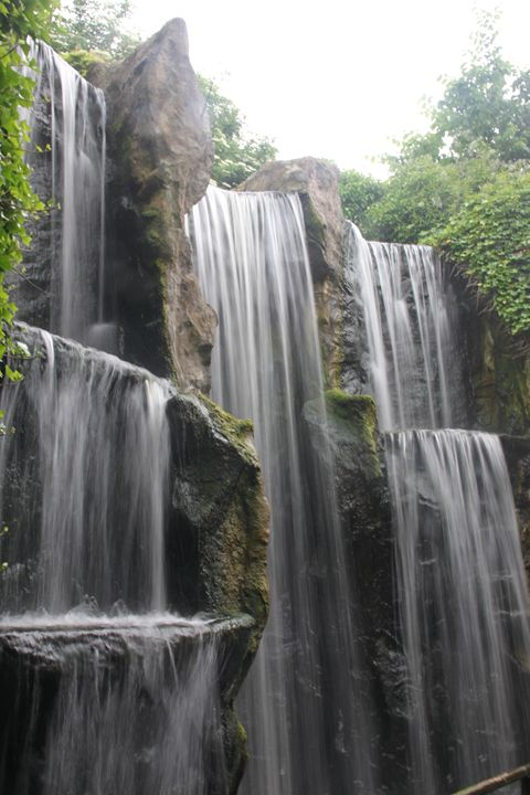 Waterfall - Derek Leathlean