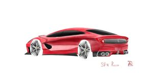 Ferrari SPX Rosso Concept
