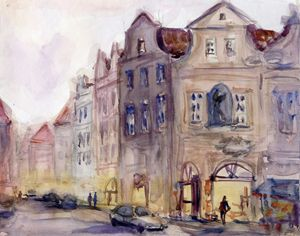 Old Prague 28.5 cm 22 cm