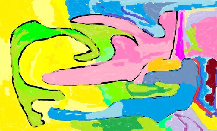 Ibnat's drawing - My dream my drawing