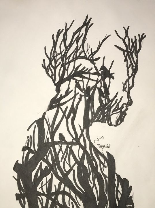 The Boy of Trees - Art By Maya