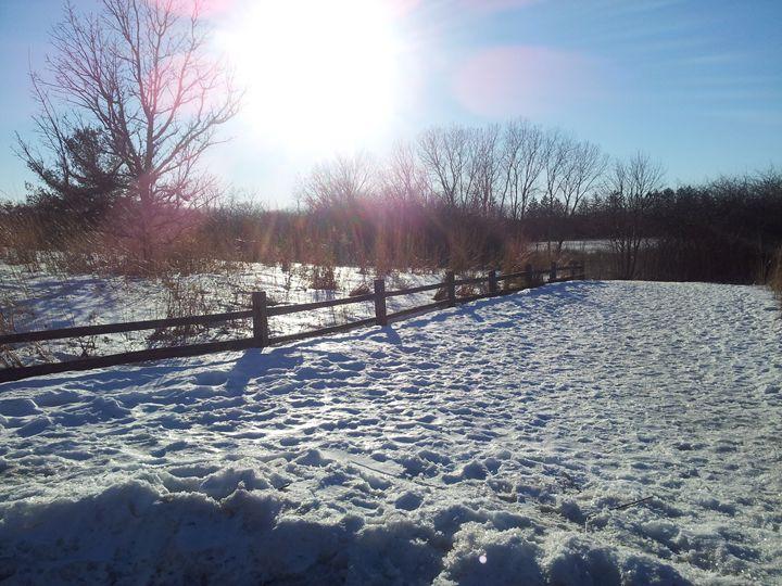 winter sun - Mariya Doroseff