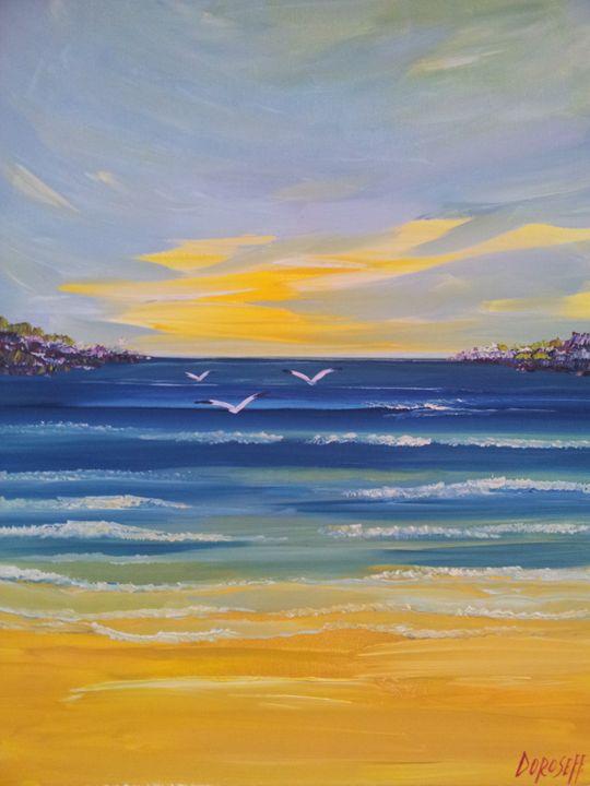 A Sumer sunset - Mariya Doroseff