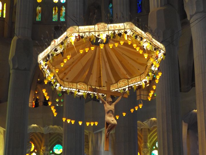 Altar Piece inside Sargarda Familia - Michelle Gardiner