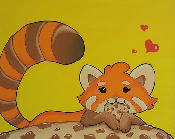 The Gourmet Red panda - Alysonne