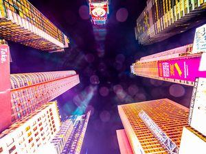 Times Square skies