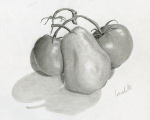 Poire et Tomates