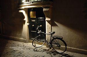 Black Italian Bike by Black Door