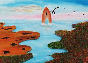 Paintbrush island