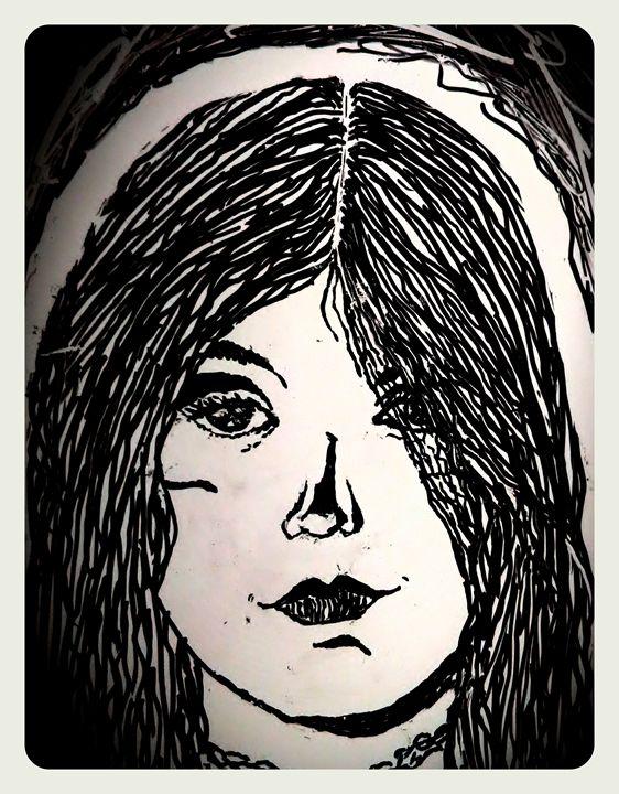 Feather Girl - Judy Bonin