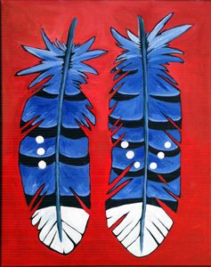 Two Blue Jay