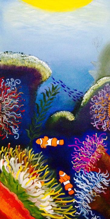 Sea Abstract - Patricia Santos
