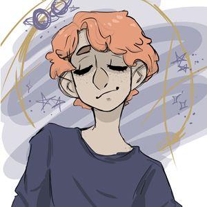 ginger boy portrait
