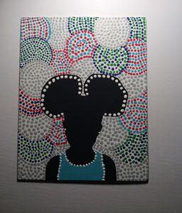AFRO PUFFS-Aboriginal Art