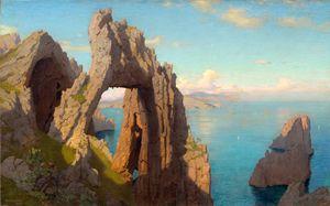 Natural Arch at Capri, Haseltine