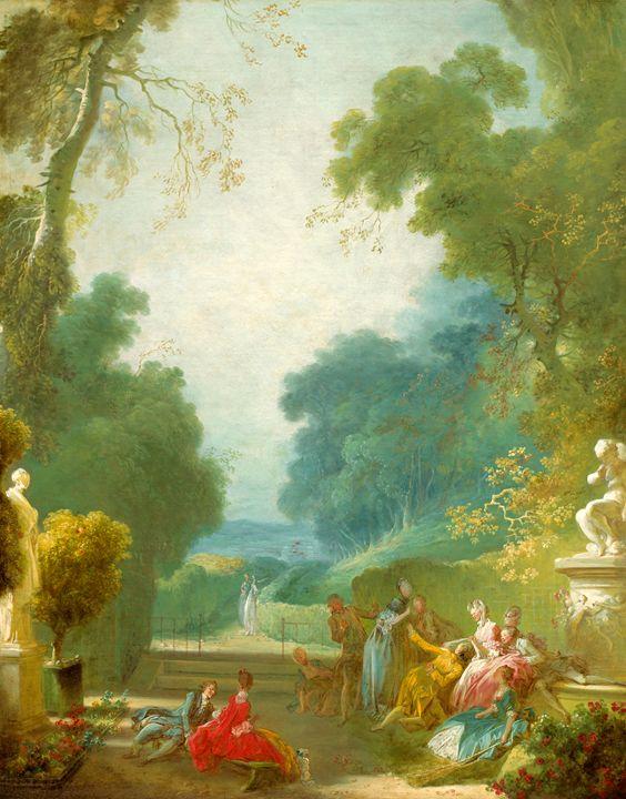 Game, Jean-Honoré Fragonard - Liszt Collection