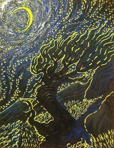 Starry Night Tree