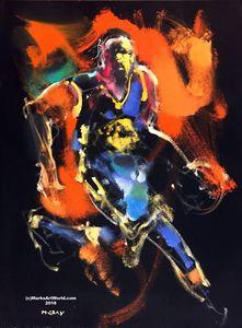 Kevin Durant by Mark Gray - MarksArtWorld