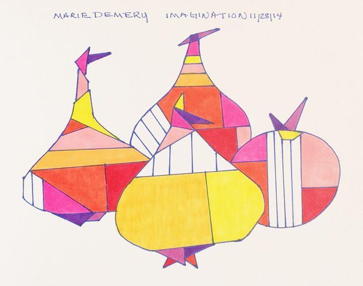 4 Symbolic Cheers - MarieDemery