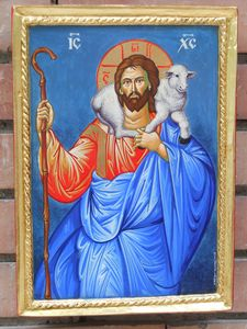 Orthodox icon, handmade
