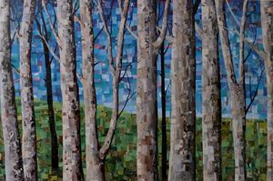 collage trees