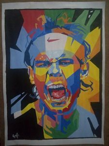 Portrait of Rafael Nadal