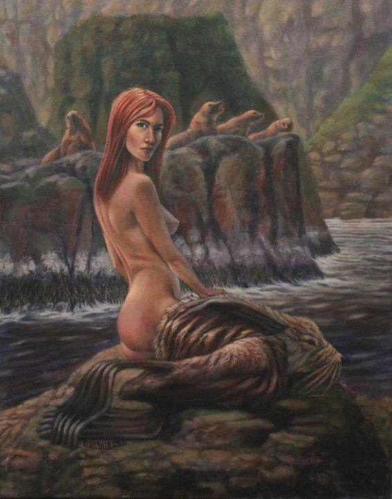 Selkie - Dan Mills Art
