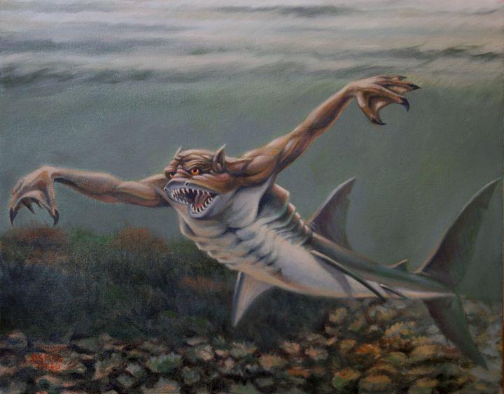 Reed Demon - Dan Mills Art