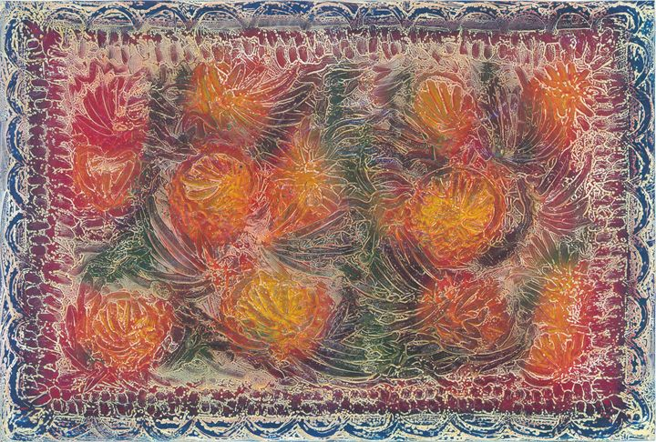 flowers floating - rumplefish
