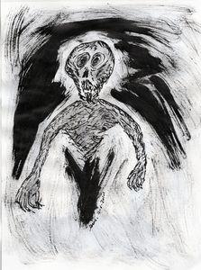 Basement Ghoul - Darkvine Art