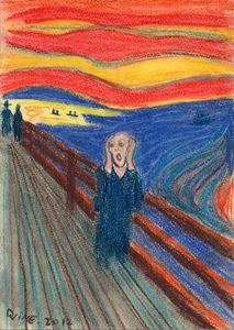 The Scream 1893 & 1895 Edvard Munch - Darkvine Art