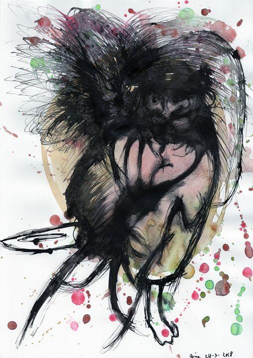 Kimono Psycho. - Darkvine Art
