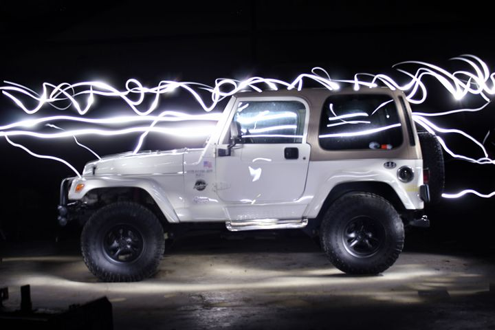 Electric Jeep - RK Photography