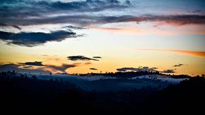 Landscape During Sunset