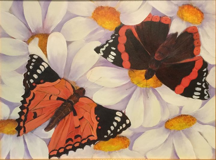 Two Butterflies - Farideh