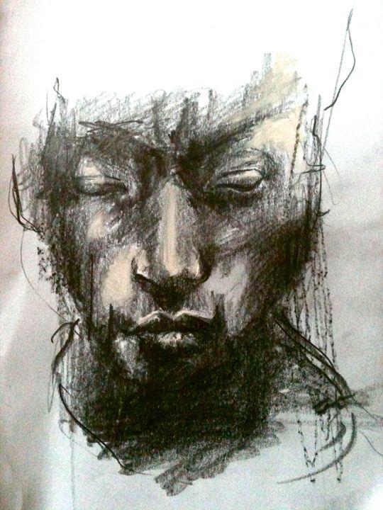Downcast Portrait - Tamsin Isaac