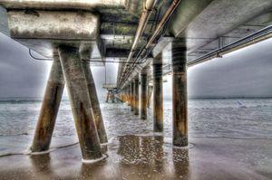Venice Beach Pier Industrial 1
