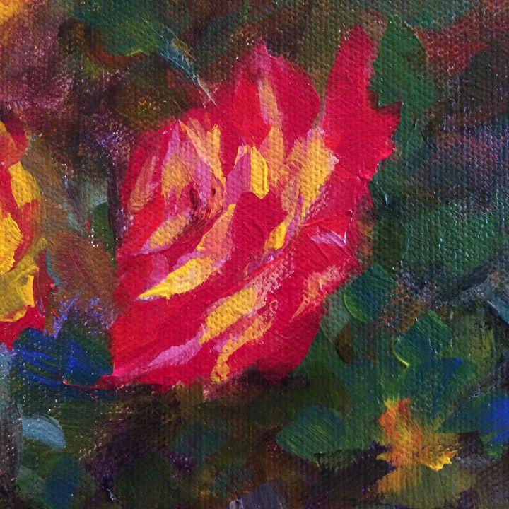 Rose 1 - Ramya Oil Paintings