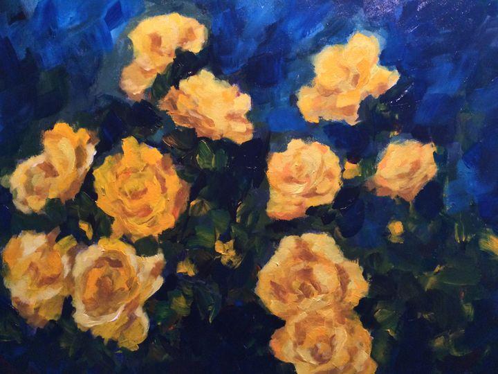 Capture my heart - Ramya Oil Paintings